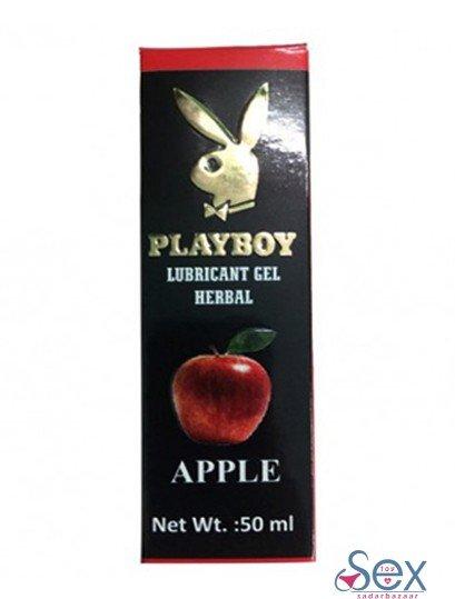 Playboy Lubricant Water Based Gel ??? Apple Flavoured-sextoyinsadarbazaar.com
