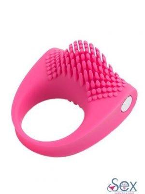 Ultra Soft Silicone Clitoral Stimulate Cock Ring- sextoyinsadarbazaar.com